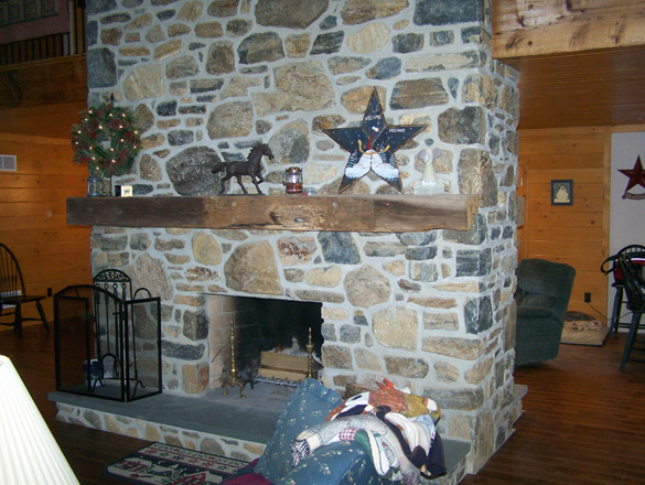 Stone veneer on inside walls joy studio design gallery for Walk in fireplace designs